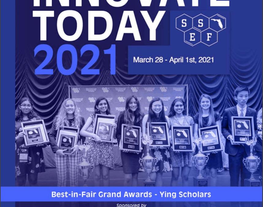 2021 State Science Fair Winners